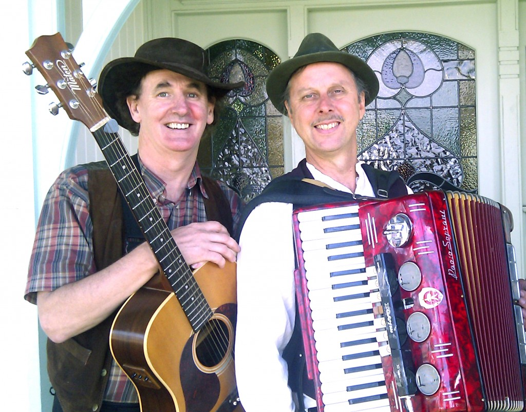 On the Wallaby duo accordion and guitar
